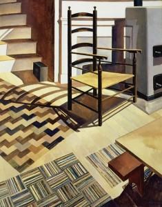 Home sweet home - Charles Sheeler