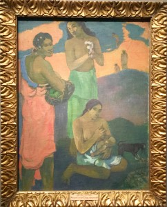 Maternité, femmes au bord de la mer - Gauguin
