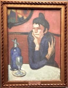 La buveuse d'absinthe - Picasso