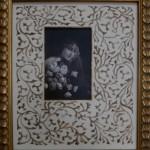 Photo ancienne - lavis art nouveau