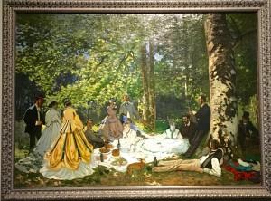 Déjeuner dans l'herbe - Monet