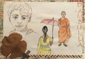 sketchbook sri lanka portraits dessins