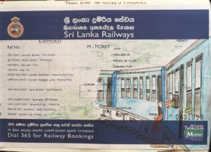 sketchbook sri lanka voyage en train