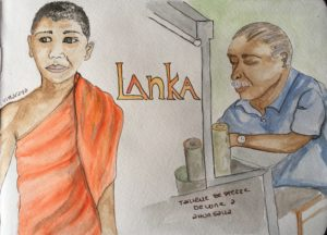 artisan du sri lanka sketchbook