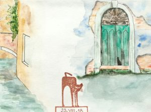 venise sketchbook