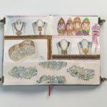 carnet de voyage inde rajasthan sketchbook jaipur bijoux
