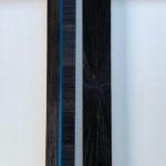 cadre en marqueterie de paille - détail